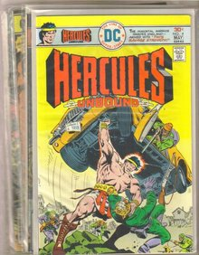 Hercules Unbound  comic book collection of 5 different issues
