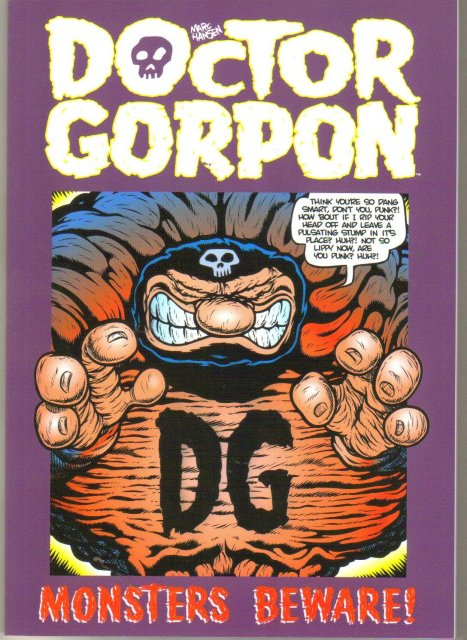 Doctor Gorpon Monsters Beware trade paperback brand new mint