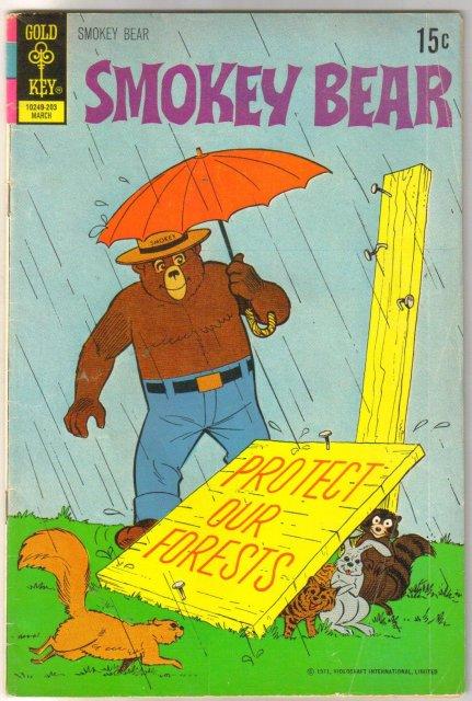 Smokey Bear #9 comic book very good 4.0
