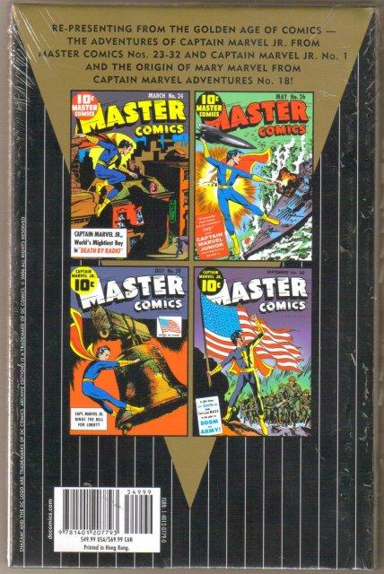 The Shazam! Family Archives Volume 1 Captain Marvel Jr. color reprints hardbound brand new mint