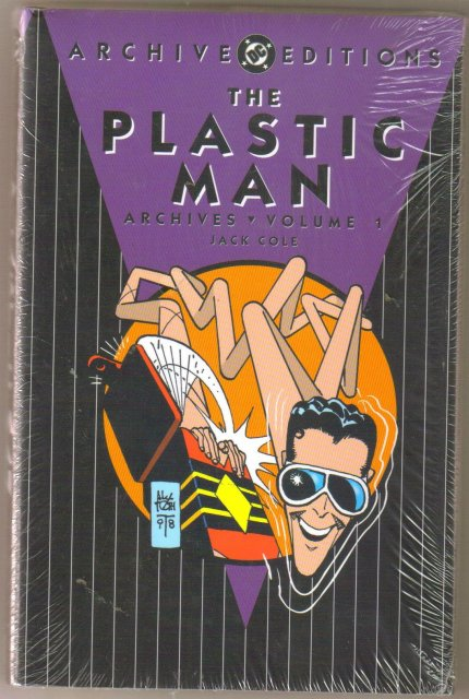 The Plastic Man Archives Volume 1  color reprints hardbound brand new mint