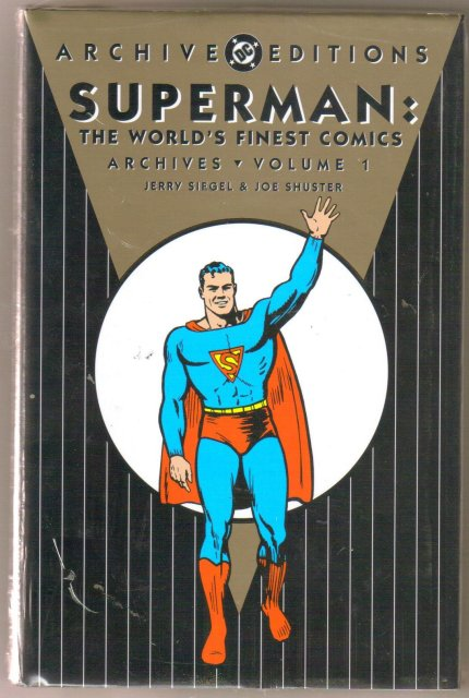 Superman World's Finest Archives volume 1  color reprints hardbound brand new mint