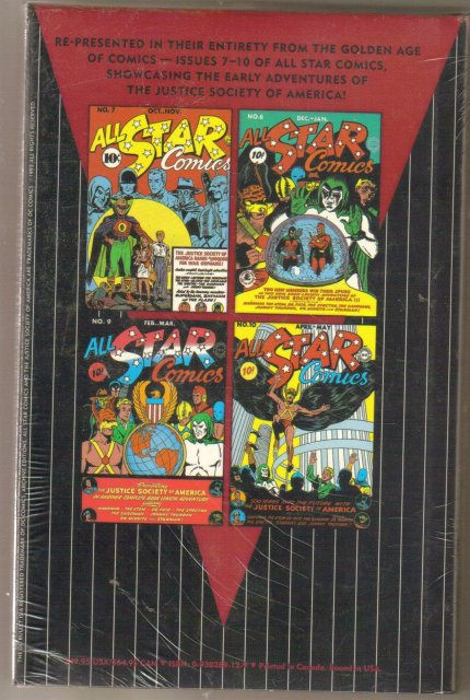 All Star Comics  volume 2 brand new and mint hardback