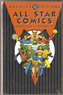 All Star Comics  volume 3 brand new and mint hardback