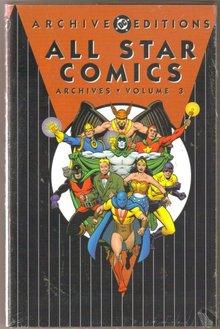 All Star Comics  volume 3 brand new and mint hardback