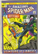 Amazing Spider-man #102 comic book fine 6.0