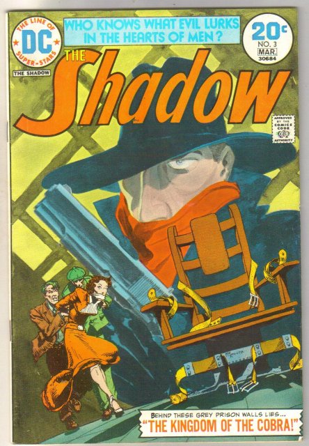 The Shadow #3 comic book very fine 8.0