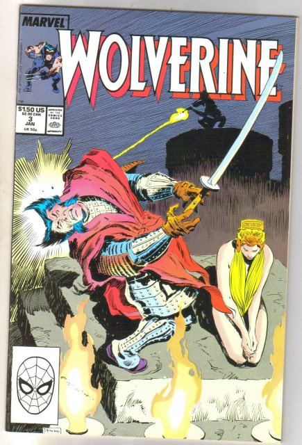Wolverine #3 comic book near mint 9.4