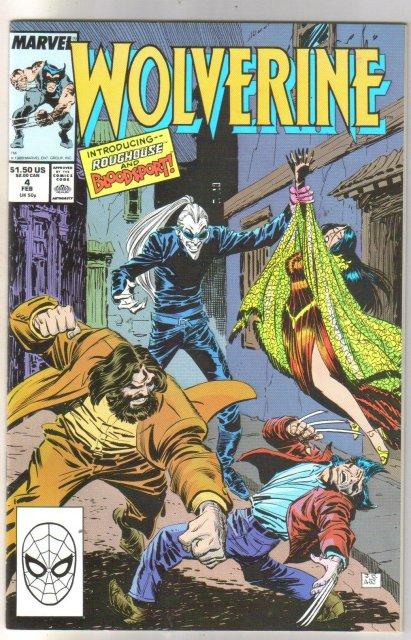 Wolverine #4 comic book near mint 9.4