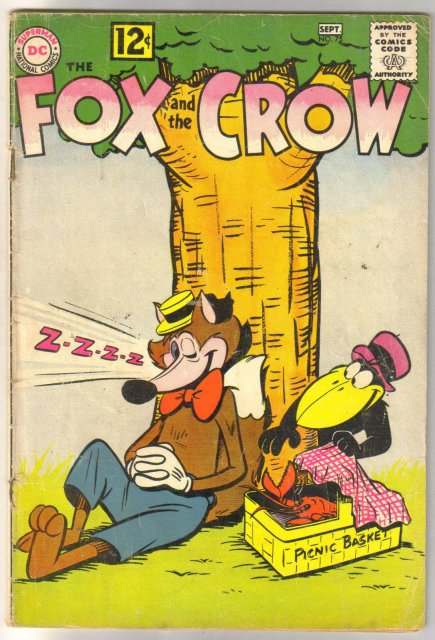The Fox and the Crow #75 comic book very good 4.0