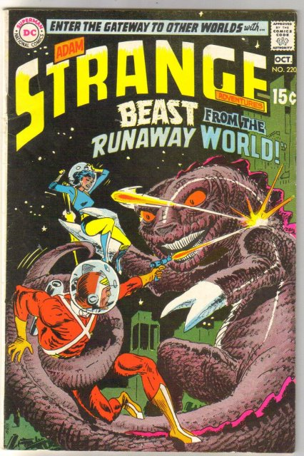 Strange Adventures #220 comic book fine 6.0