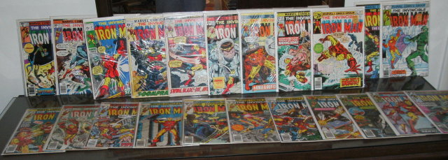 Iron Man collection of 22 collectible comic books