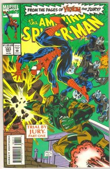 wholesale Amazing Spider-man #383 near mint to mint 85 cents each