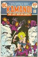 Kamandi #8 comic book fine 6.0