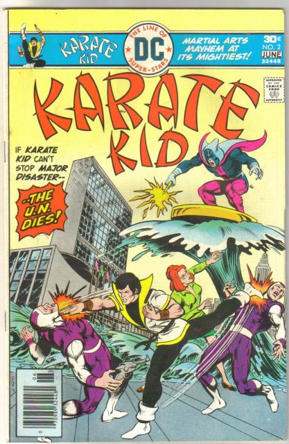 Karate Kid #2 comic book very fine 8.0