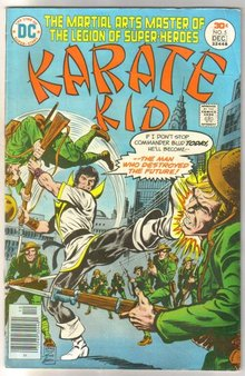Karate Kid #5 comic book very fine 8.0