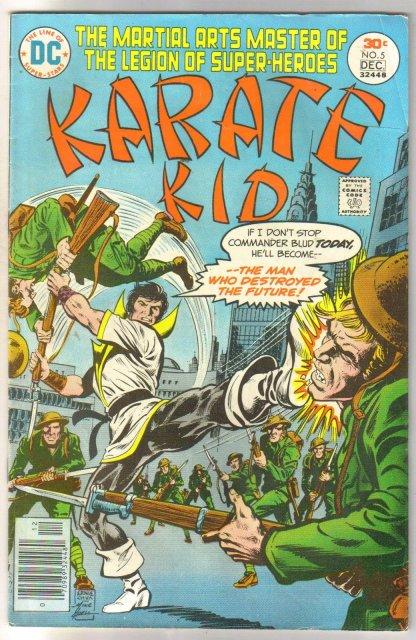 Karate Kid #5 comic book very fine 8.0