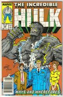 Incredible Hulk #346 comic book near mint 9.4