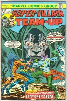 Super-Villain Team-up #1 comic book fine/very fine 7.0