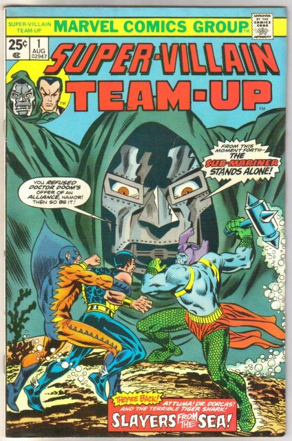 Super-Villain Team-up #1 comic book fine/very fine 7.0