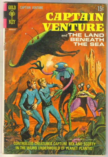 Captain Venture #2 comic book very good 4.0
