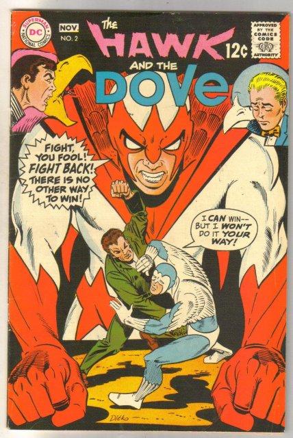 The Hawk and the Dove #2 comic book fine/very fine 7.0