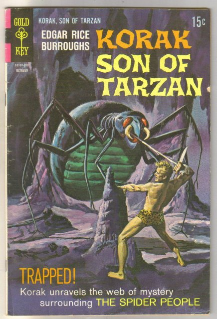 Korak, Son of Tarzan #25 comic book fine 6.0