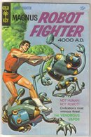 Magnus Robot Fighter 4000 A.D. #26 comic book fine 6.0
