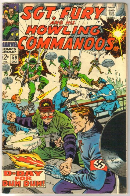 Sgt. Fury and his Howling Commandos #59 comic book very fine 8.0