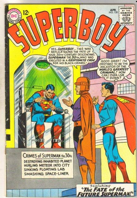 Superboy #120 comic book fine 6.0
