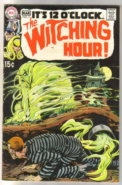 The Witching Hour #7  comic book very fine 8.0