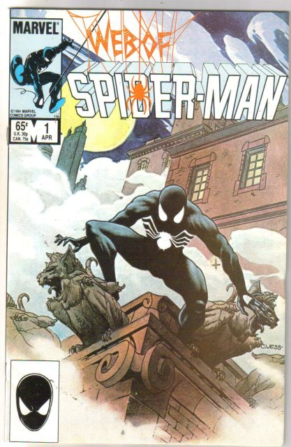 Web of Spider-man #1 comic book near mint 9.4