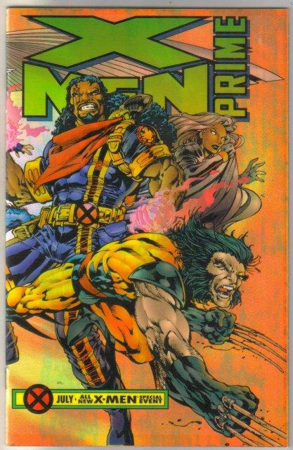 X-men Prime  comic book near mint 9.4