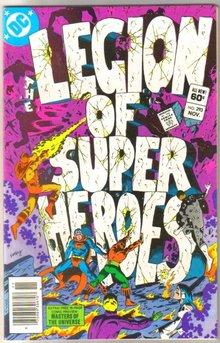 The Legion of Super-Heroes #293 comic book near mint 9.4