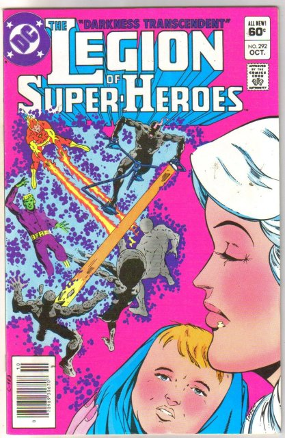 The Legion of Super-Heroes #292 comic book  mint 9.8