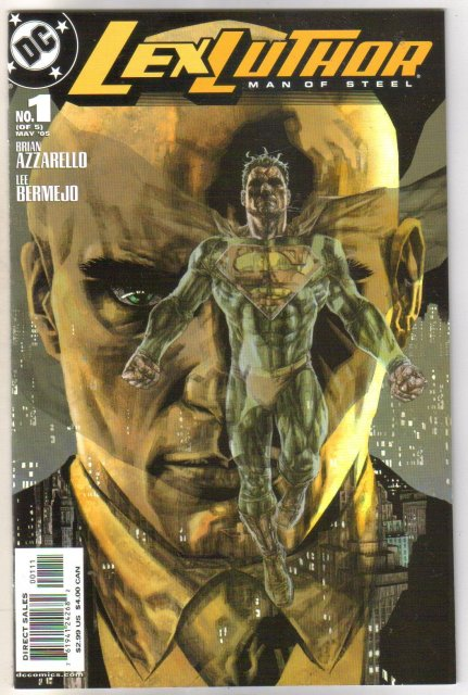 Lex Luthor Man of Steel #1 comic book near mint 9.4