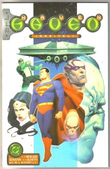 Jla/Haven #1  comic book mint 9.8