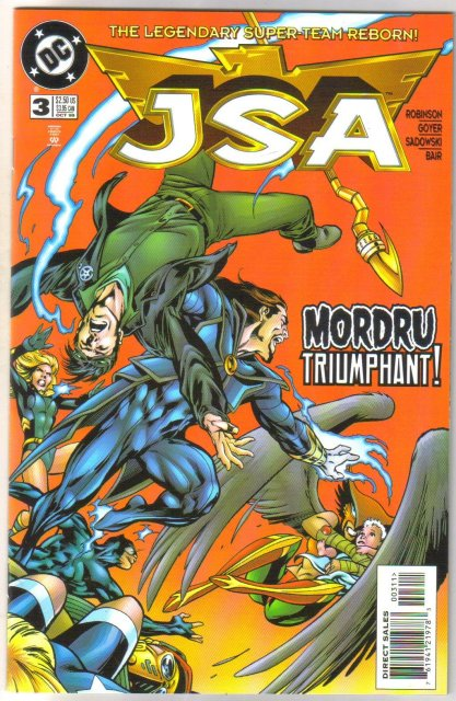 JSA   Justice Society of America #3 comic book mint 9.8