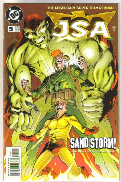 JSA   Justice Society of America #5 comic book mint 9.8