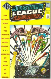Justice League of America official index #2 mint 9.8