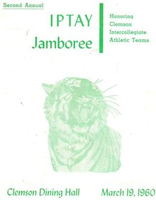 IPTAY Jamboree 1960 program
