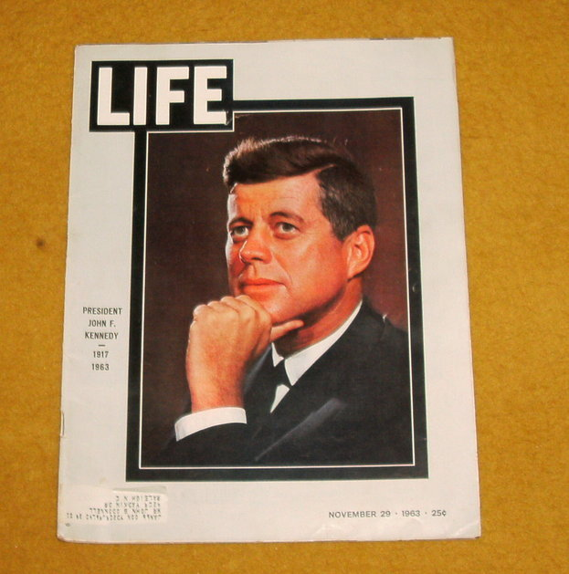 Life magazine Kennedy and Oswald assassination issue November 29, 1963
