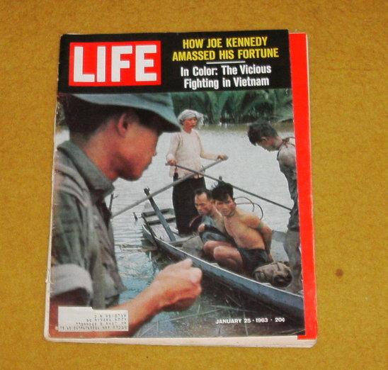 Life magazine january 25, 1963