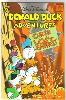 Donald Duck Adventures #17 comic book near mint 9.4