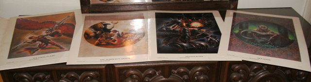 Midnight Gods signed portfolio by John Pound