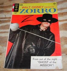 Zorro #9 comic book very good/fine 5.0