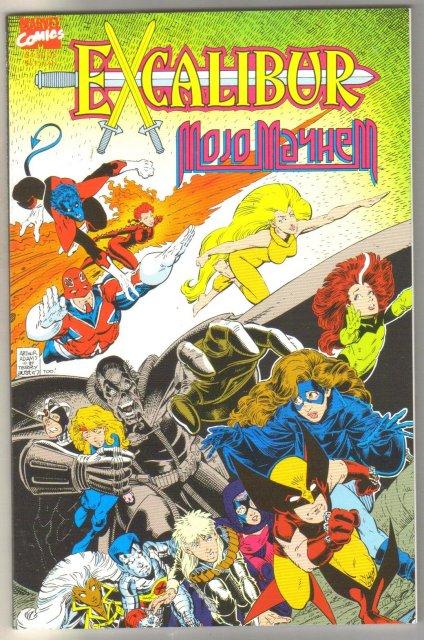 Excalibur Mojo Mayhem comic book mint 9.8