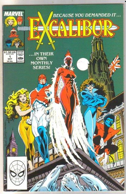 Excalibur #1 comic book near mint 9.4