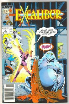 Excalibur #2 comic book near mint 9.4