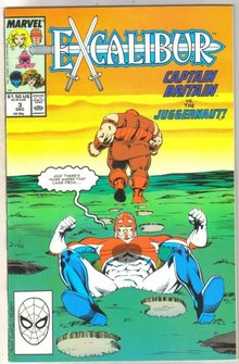 Excalibur #3 comic book near mint 9.4